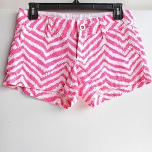 Lilly Pulitzer Cotton the Walsh short Sz 00